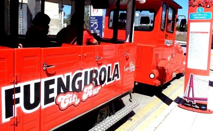 tren turistico en fuengirola